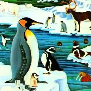 pinguin zbor