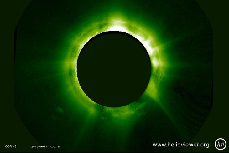 Helioviewer.org, un site afiliat NASA, a surprins lângă Soare o planetă necunoscută de mărimea planetei Jupiter!! Ce naiba o fi!?
