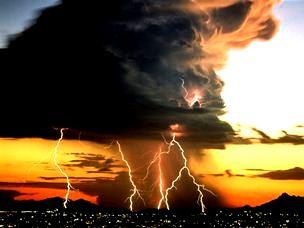 furtuna violenta in oras