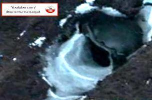 gaura OZN in Antarctica