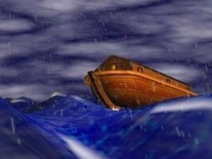 """""""Epopeea lui Ghilgameş"""", legenda babiloniană ne vorbeşte şi ea despre potopul lui Noe! Se pare că arca lui Noe avea formă cubică, la fel ca submarinul zeului Enki"""