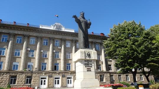 statuia lui Stefan cel Mare din Balti 4