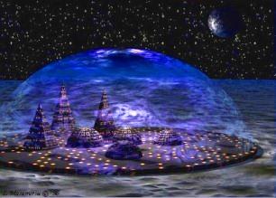 Planuri îndrăzneţe pentru baze lunare: până în 2050, vor putea locui 100.000 de oameni pe Lună!