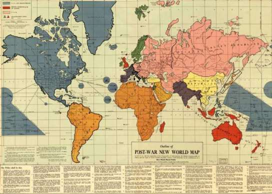 harta mondiala 1942