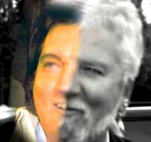 Elvis Presley deghizat