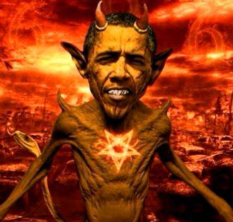 Obama diavol