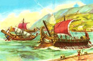 corabie romana