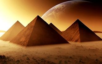 """Pe plăcile care înveleau în vechime piramidele egiptene se găseau inscripţionate cunoştinţe avansate de la """"preoţii din Atlantida""""! Ce păcat că s-au pierdut..."""
