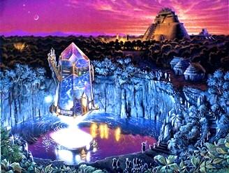 shambala cristal obiect zburator