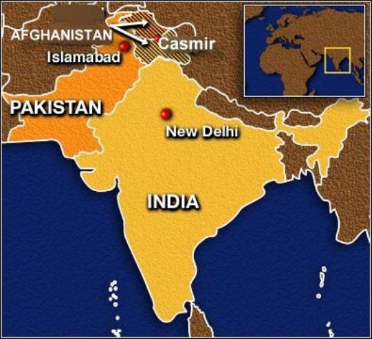 India Pakistan Casmir