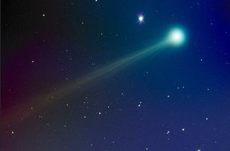 cometa ISON stralucitoare