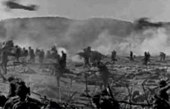 """Este aceasta o filmare autentică dintr-o bătălie pe viaţă şi pe moarte din timpul primului război mondial? Dacă da, atunci """"Wow""""...e incredibilă!!"""
