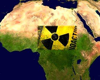 uraniu Africa