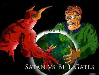 bill gates satana