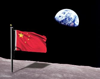 chinezii pe Luna