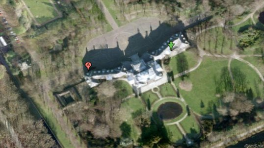 palatul Huis Ten Olanda