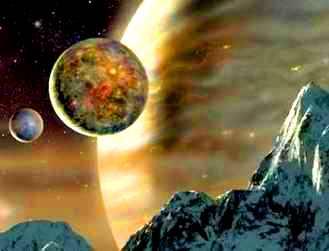 planeta satelit