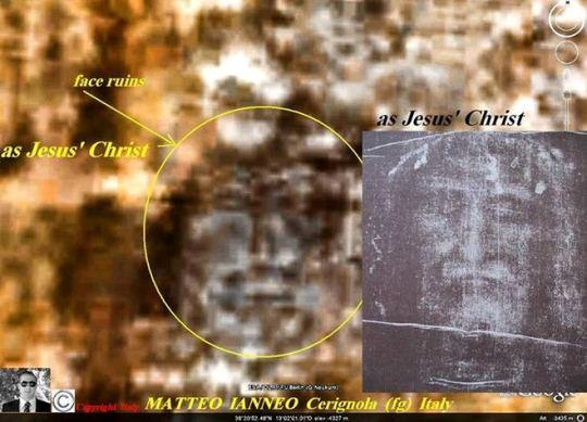 Marte 103 - giulgiu lui Iisus