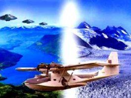 Întâlnirea fantastică a amiralului Byrd cu lumea ascunsă de la Polul Nord: păduri, munţi, mamuţi, OZN-uri cu zvastică şi oraşe de cristal...
