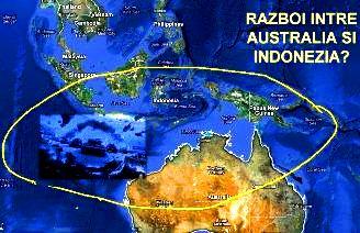 australia indonezia razboi