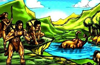 dinozauri oameni