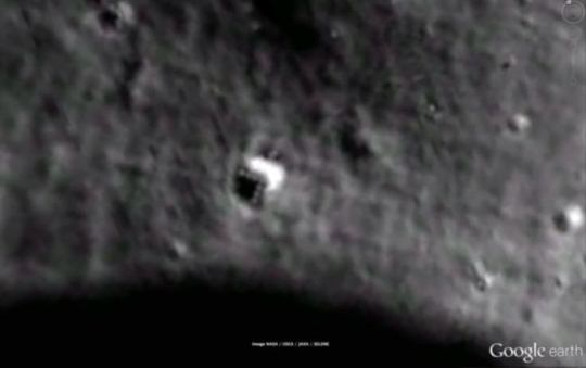 nava spatiala pe Luna