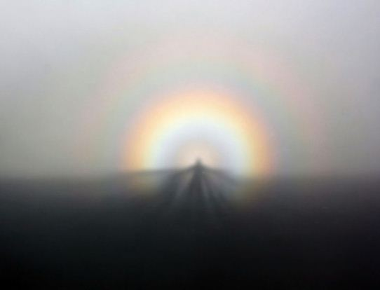 Spectru Brocken, un fenomen natural