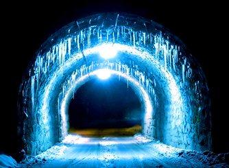 tunel antarctic