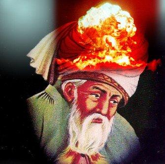 """Marele poet al islamului mistic, Rumi, vorbea acum 800 de ani de energia atomică! Profeţie genială sau o rememorare a """"experienţei atomice"""" din vremurile străvechi ale omenirii?"""