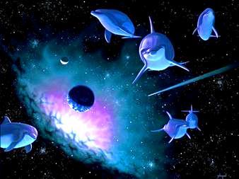 delfini extraterestri