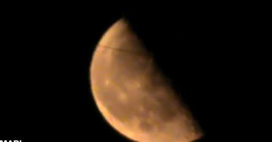 linie pe Luna 3