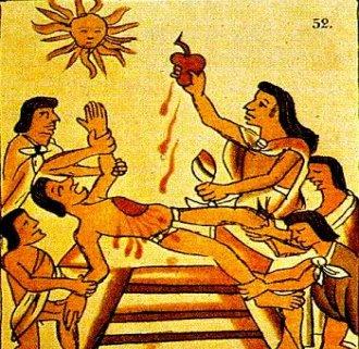 sacrificii umane aztece 1