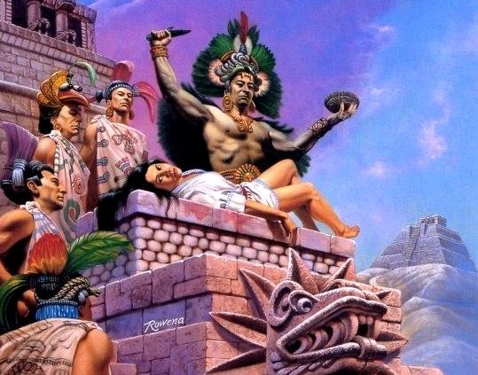 sacrificii umane aztece 2