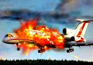 distrugere avion