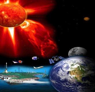 explozie solara Pamantul