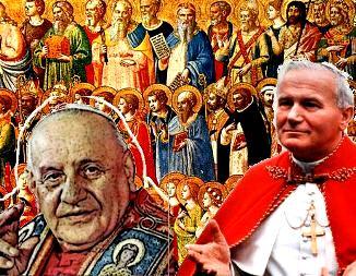 """Doi papi au sanctificat alţi doi papi... Dar, nu papa poate face """"sfânt"""" pe cineva, ci doar Iisus Hristos, aşa cum putem citi şi în Biblie!"""