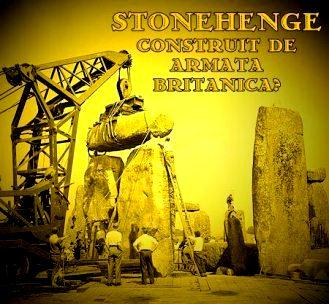 """Stonehenge a fost construit între 1954 şi 1958 de către Armata britanică! Întreaga zonă e înconjurată de militari! Ce păzesc ei? Acest monument New Age sau o """"poartă stelară""""?"""