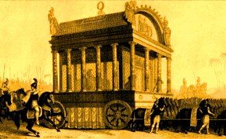 procesiune funerara Alexandru cel Mare
