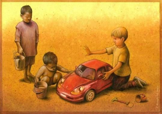 copii bogati saraci
