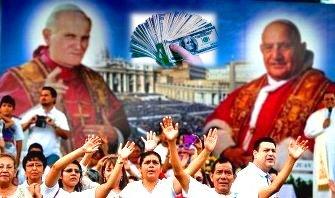 doi papi sfinti bani corporatie