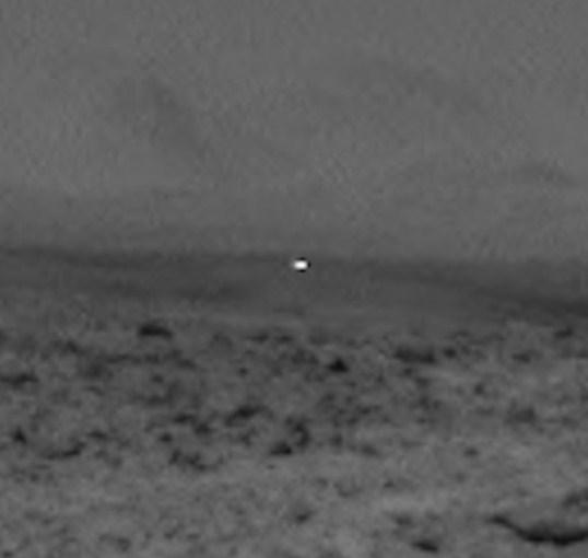 lumina ciudata Marte