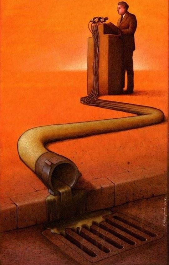 politicienii produc dejectii