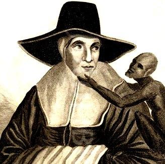 """Binecunoscuta profetă """"Maica Shipton"""" ne vorbeşte din secolul XV despre OZN-uri argintii şi extratereştri! Ce-a văzut ea?"""