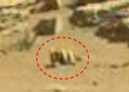 baza rectangulara Marte