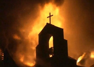 distrugere biserica
