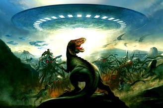 extraterestri dinozauri