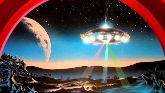 În Argentina, un bărbat a fost atacat de extratereştri cu o rază roşie misterioasă! Apoi, toate luminile din zonă şi-au schimbat culoarea!