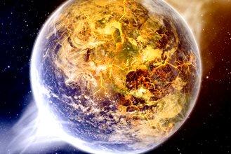 """""""Apocalipsa lui Ioan"""" ne vorbeşte de schimbarea axei Pământului, din cauza unui corp ceresc masiv! Vedeţi lista de dezastre care s-ar produce pe Pământ..."""