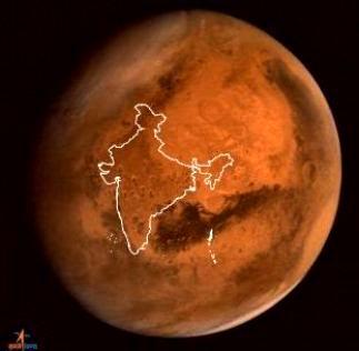 India pe Marte
