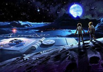 Naziştii au construit primele baze pe Lună încă din 1942! În prezent există pe Lună o bază secretă ruso-americană, unde trăiesc 40.000 de oameni!